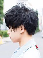 黒髪束感!【BLACKアクセルブラスト】 SIDEサムネイル