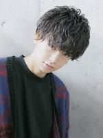 セクシャルグロッシーウェーブ【色気のある男ヘア】 FRONTサムネイル