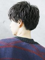 セクシャルグロッシーウェーブ【色気のある男ヘア】 BACKサムネイル