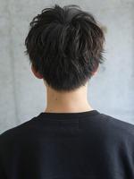 【メンノン風マッシュヘア】 BACKサムネイル