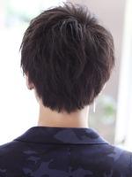 ナチュラルに男髪【ラブレスマッシュ】クラウドマッシュ BACKサムネイル