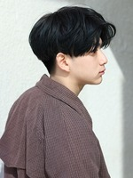 【メンノン風センターパートショート】 SIDEサムネイル