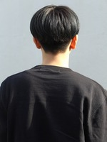 【ナチュラルコンマバングショート】 BACKサムネイル