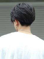 【メンノン風ラフマッシュ】 BACKサムネイル