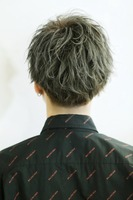ルーズスパイラル【ネロマッシュ】ツーブロック BACKサムネイル