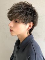 【束感マッシュウルフ×アッシュグレー】 SIDEサムネイル