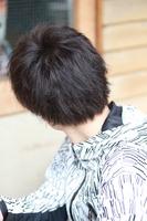 【硬毛でも柔らかく見える】ほぐれ髪マッシュ BACKサムネイル