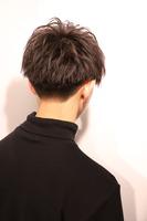 【重く見せない黒髪】テトラマッシュ BACKサムネイル