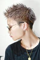 【これが漢髪。】シルバーアップバング BACKサムネイル