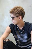 オールバック メンズ髪型 73分け SIDEサムネイル