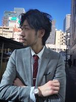 ビジネスマン メンズパーマ スーツスタイル SIDEサムネイル
