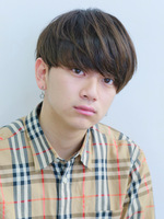 【モテ髪】ナチュラルマッシュ FRONTサムネイル