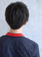素髪風ショート【シャンティーマッシュ】 BACKサムネイル