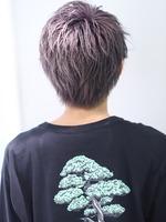 夏のブリーチヘア【ヒールショート】 BACKサムネイル