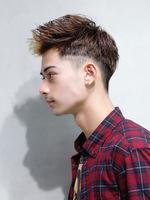 ゼイン風アップバングヘア SIDEサムネイル