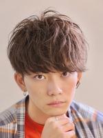 【流れる前髪】ライトムーブマッシュ FRONTサムネイル